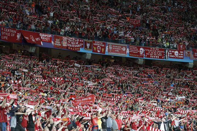 利物浦球迷看台