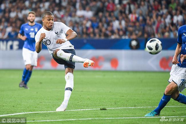 世界杯各队U23:姆巴佩领衔法国8小将 巴西仅1人