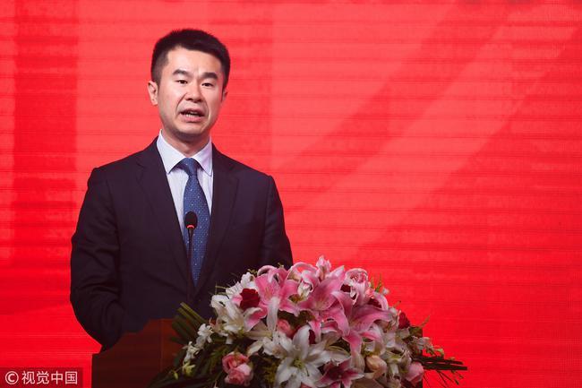 中信银行总行办公室主任沈强先生致辞