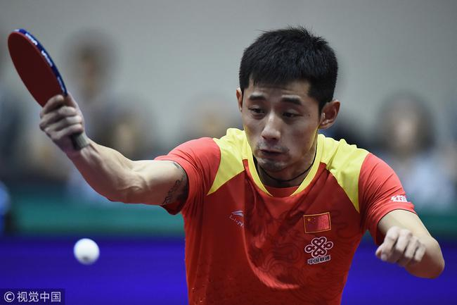 张继科:虽有腰伤但更快乐 为东京奥运继续努力