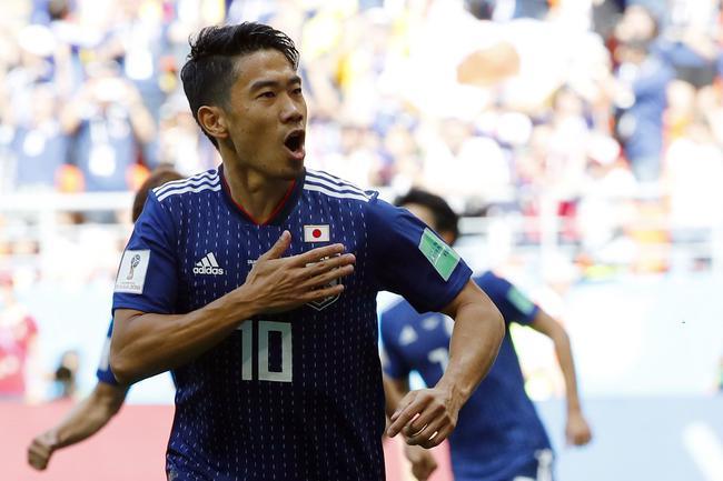 世界杯-开场176秒造点球+红牌 日本2-1擒哥伦比亚