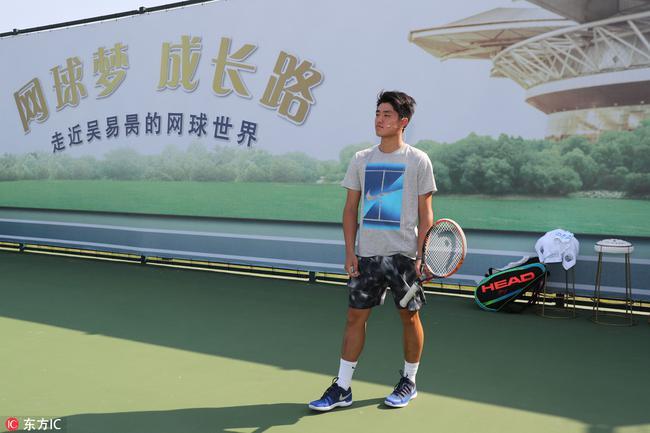 吴易昺的网球梦渐渐清晰