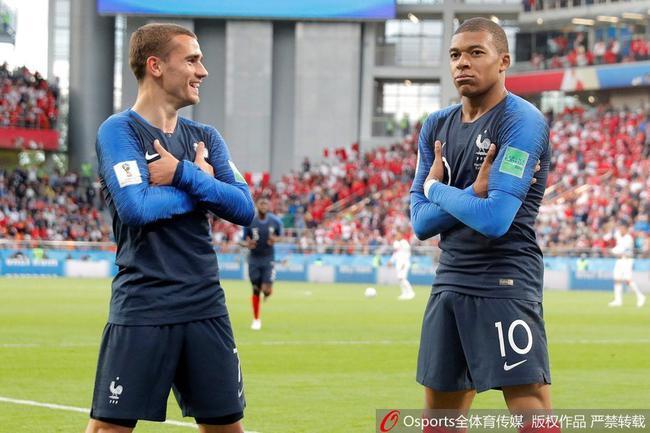 接下来阿根廷将面对强大的法国队