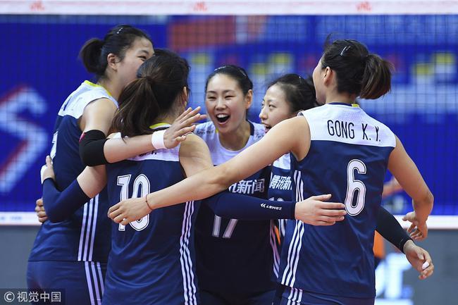 世界女排联赛总决赛中国3-1荷兰