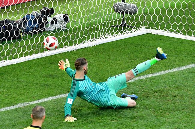 德赫亚本届世界杯很不愉快