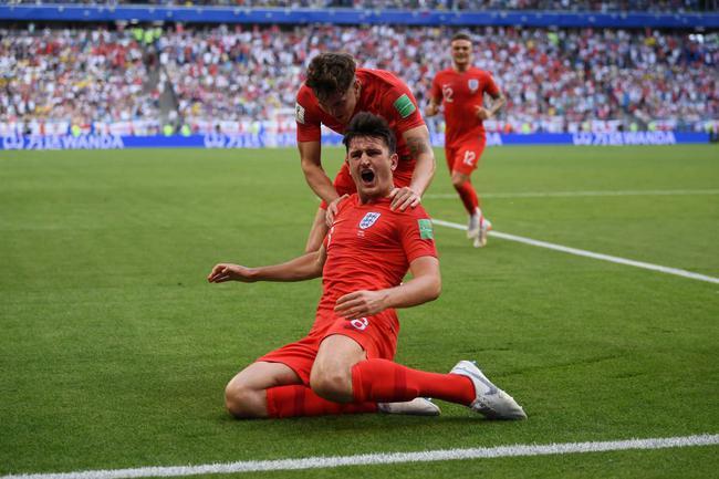 世界杯-两将头槌建功门神护主 英格兰2-0挺进4强