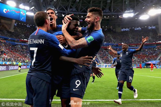 法国依然露出了冠军相
