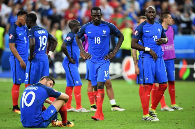 法国队输掉了欧洲杯决赛