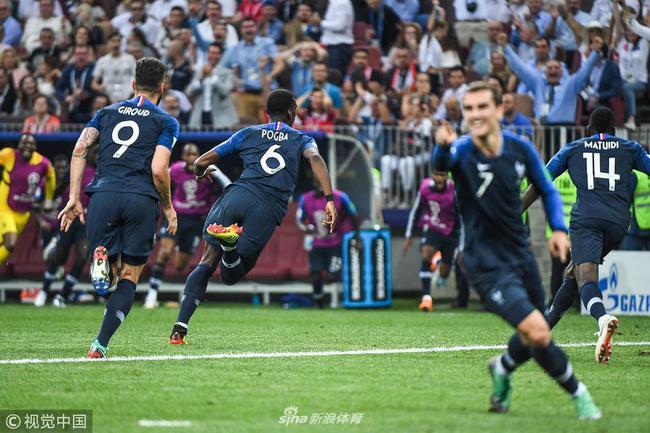 法国庆祝进球