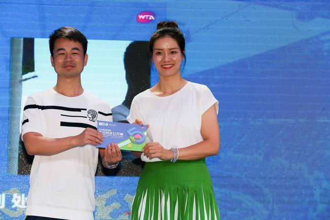 2018武汉网球公开赛全球开票 李娜现身邀请球迷