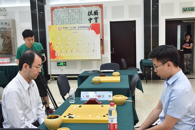 王琛击败日本选手村上深