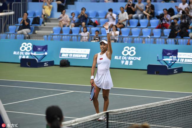 [原创]南昌赛王蔷生涯首进WTA决赛 中国提前锁定女单冠军