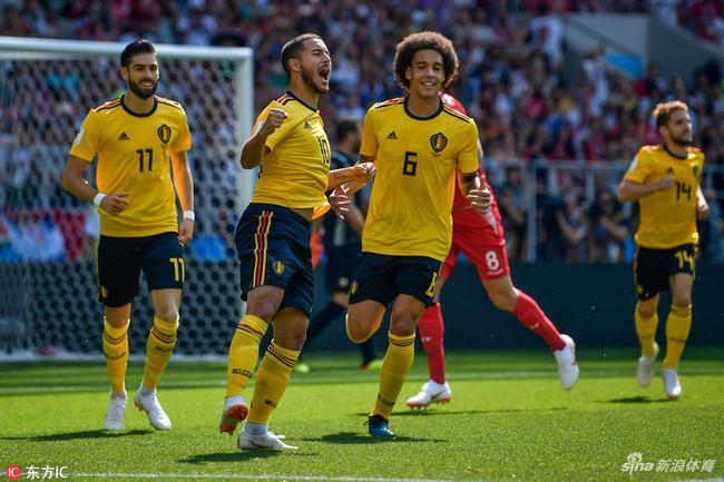 维特塞尔帮助比利时创造历史最佳战绩