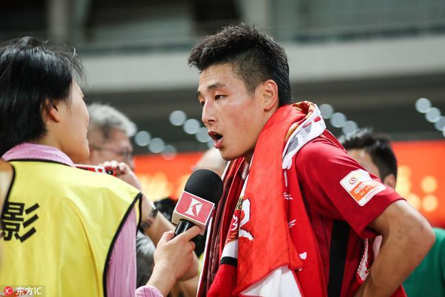 武磊:现在不谈论金靴 用进球帮上港取胜很开心