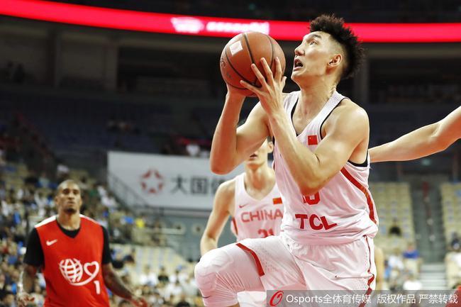 乐福23分吴前26分 中国男篮114-97胜NBA明星队