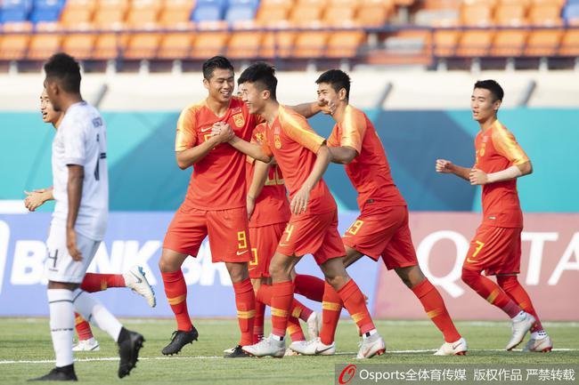 亚运-张玉宁韦世豪破门中卫2球 U23国足6-0开门红
