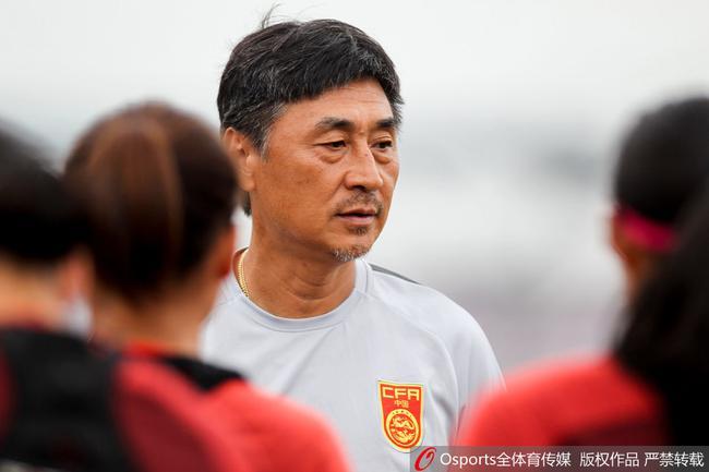 中国女足迎来亚运会