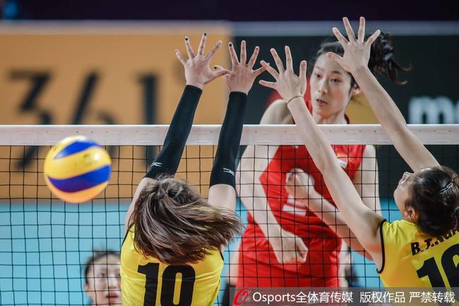 朱婷15分中国女排3-0横扫越南 力夺亚运会开门红