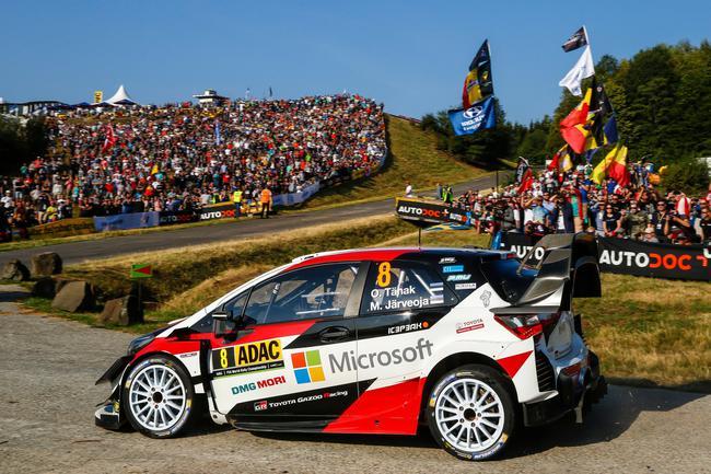 WRC德国站:塔纳克获得冠军 诺伊维尔第二