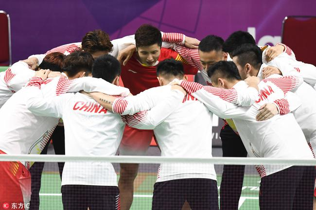 中国羽毛球男队