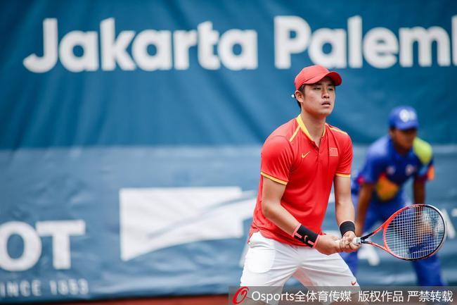 亚运会吴易昺遭头号种子逆转 收获网球男单银牌