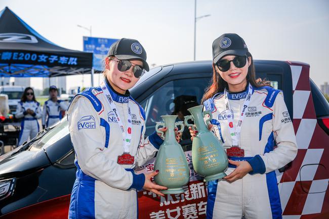 CRC宝丰站:众泰E200 Pro夺纯电动厂商车手冠军