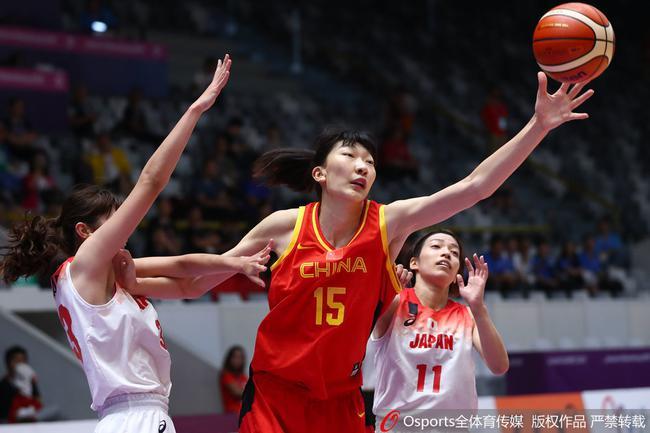 中国女篮胜日本晋级亚运会决赛