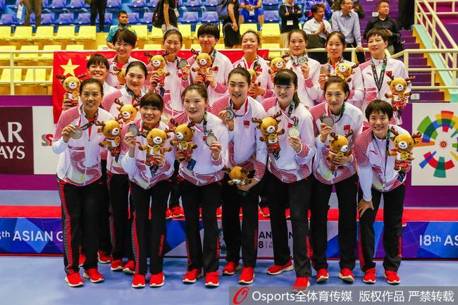 亚运会获得银牌
