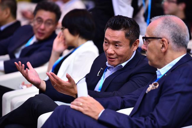 新浪体育总经理魏江雷出席FE电动方程式中国战略发布会