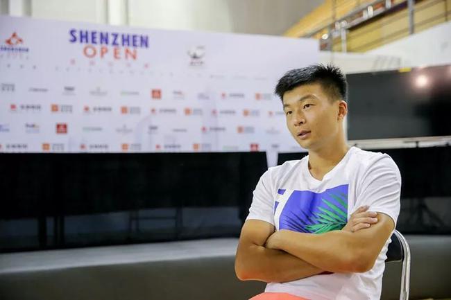 吴迪看淡中秋直言以网球为主 心中有梦盼继续坚持