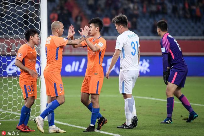 足协杯-鲁能总分4-0一方进决赛