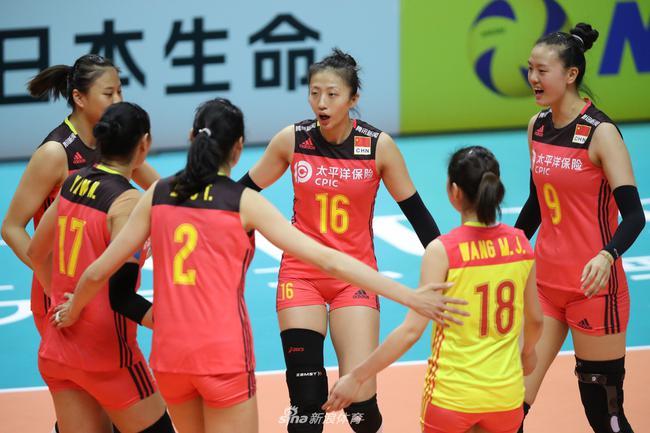 中国女排众志成城
