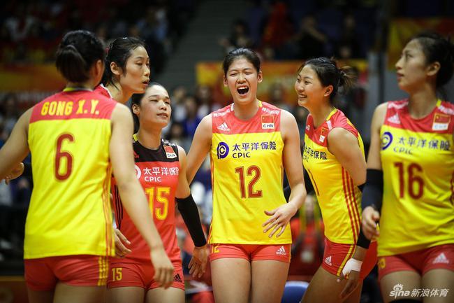 中国女排有望战胜泰国