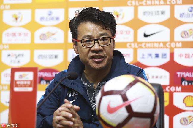 吴金贵:球员们执行了赛前计划 瓜林对申花至关重要