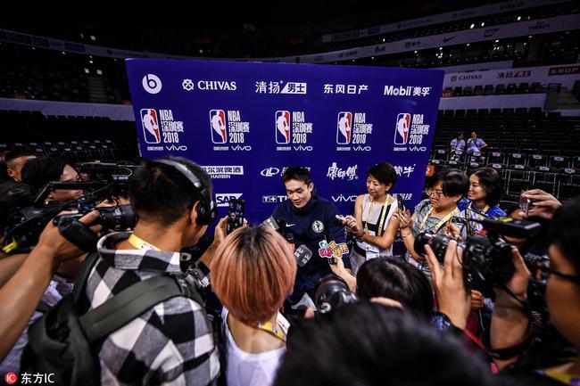 小丁谈与独行侠签约:伤病不会阻挠我进NBA的梦