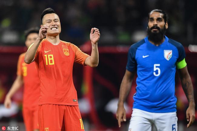 热身-郜林武磊中框围攻无果险遭绝杀 国足0-0印度