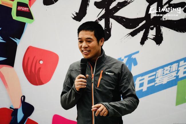 成都市攀岩运动协会会长吴晓江