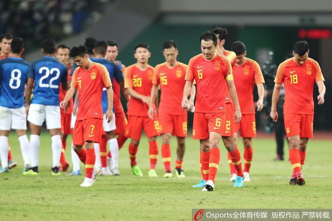 大V热议国足0-0印度:留给中国队的弱队已不多了