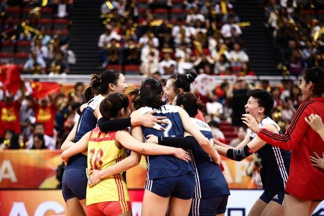挺进世锦赛决赛圈 中国女排点燃全体粉丝的期盼