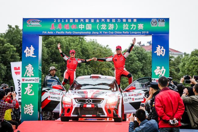 张国宇与李佳润率领北京汽车润赛车车队回归CRC赛场