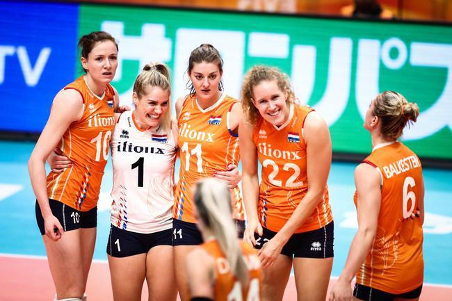 世锦赛女排姑娘打服对手 荷兰核心:中国比我们强