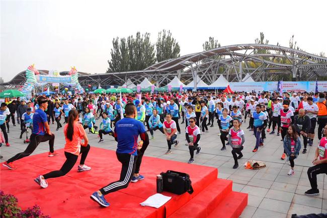 天天5K我OK!第36届北京公园半马建侬奥森站落幕