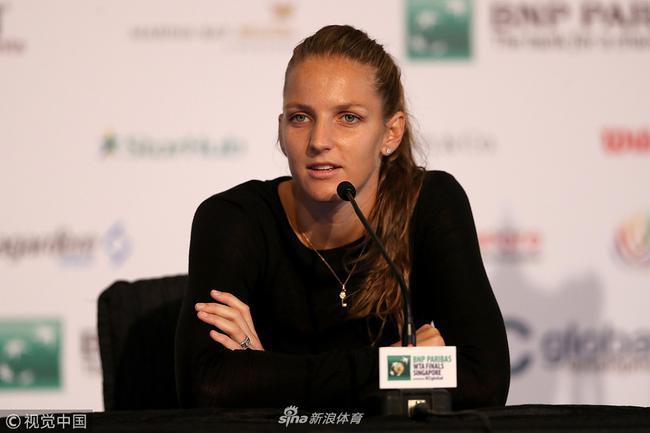 普利斯科娃在赛前采访