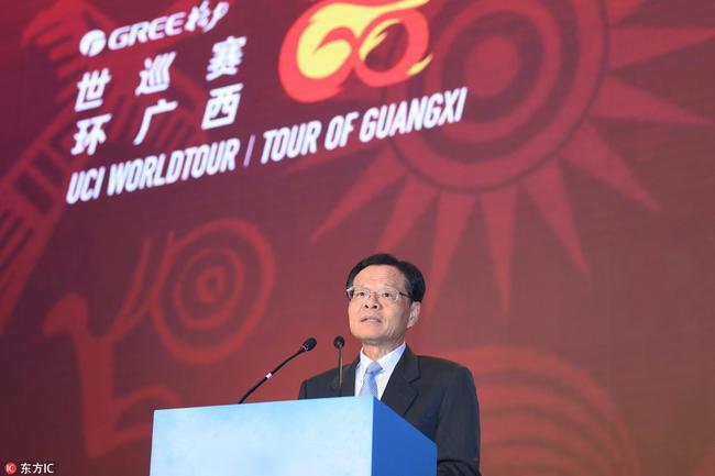 图:广西壮族自治区主席陈武