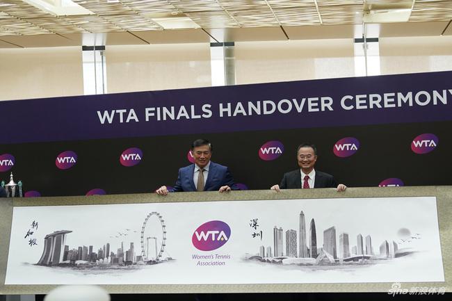 WTA总决赛迁至深圳