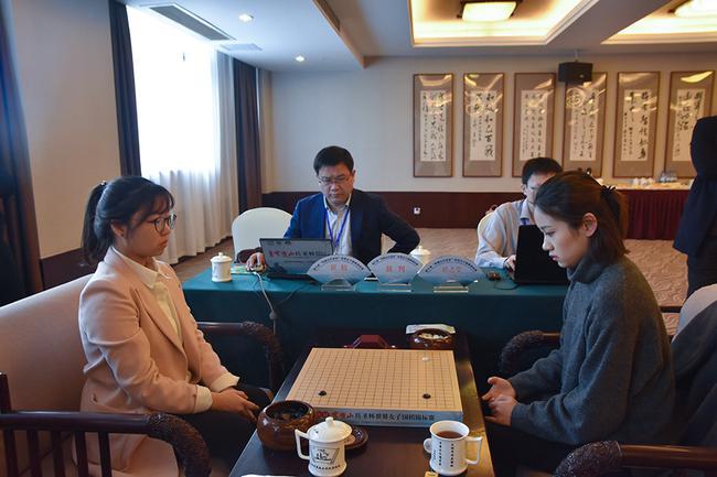 穹窿山兵圣杯世界女子围棋赛16强战现场