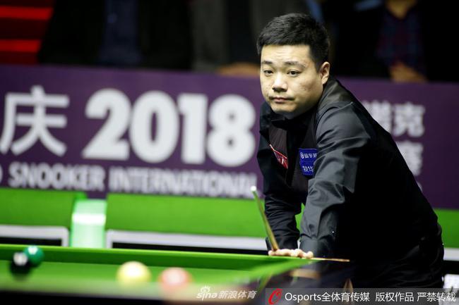 丁俊晖自从国锦赛之后还没有打过比赛