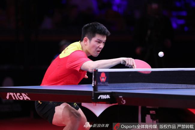 樊振东横扫法尔克进决赛