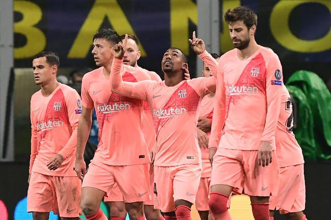 巴萨=首支小组出线队 踢4场欧冠就赚了6800万