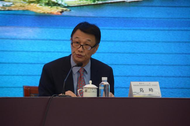棋牌运动管理中心副主任葛峰发言